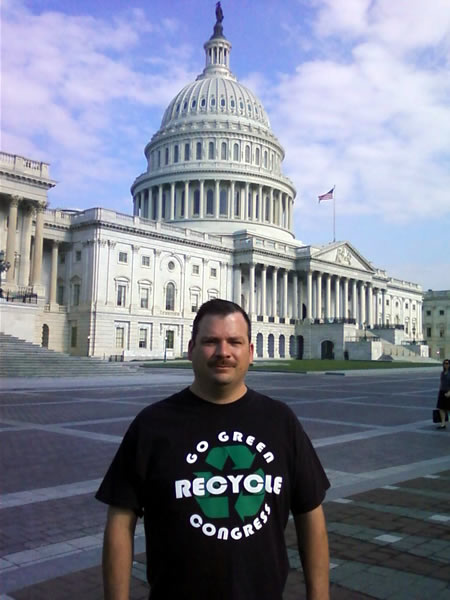 go green rycycle congress t-shirts