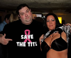 SAVE THE TITS T-SHIRT